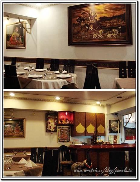 坦都印度餐廳-店內裝潢