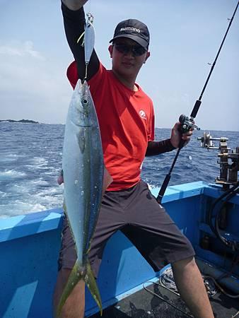 鯡鐵板非常適合拉倫這種表層魚種.JPG