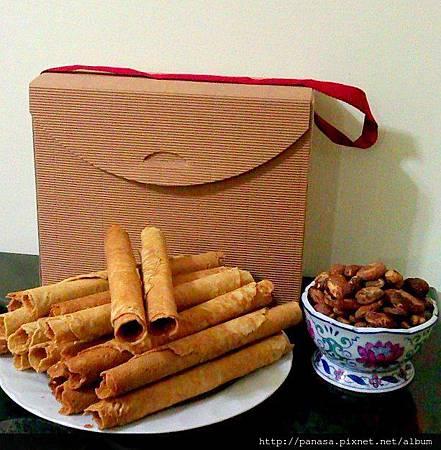 有機菠蘿蜜養生捲禮盒(一)精緻的包裝禮盒 送的有質感 吃的安心開心更喜心