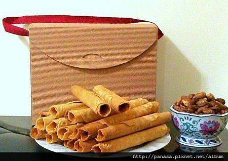有機菠蘿蜜養生捲禮盒     精緻的包裝禮盒 送的有質感 吃的安心開心更喜心