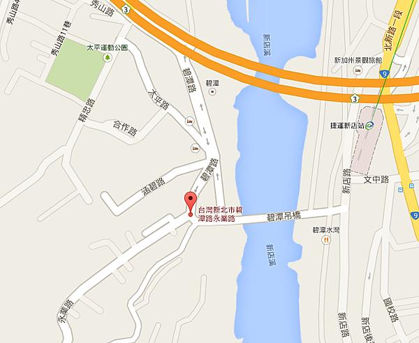 231新北市新店區碧潭路永業路 - Google 地圖