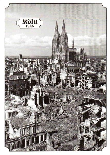 德國科隆明信片