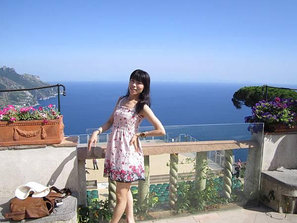 麗瓊在義大利拉維洛花園