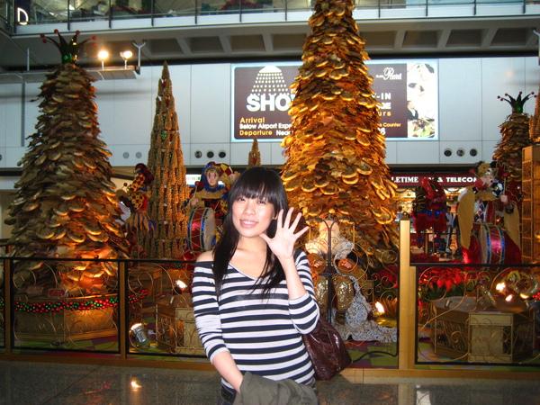 抵達香港赤臘角機場