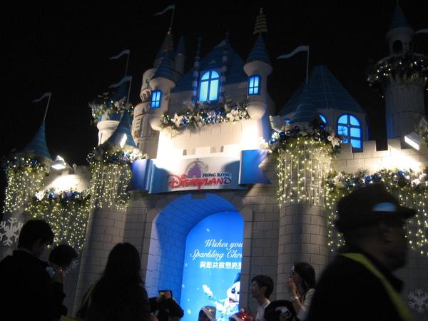 迪士尼廣告城堡