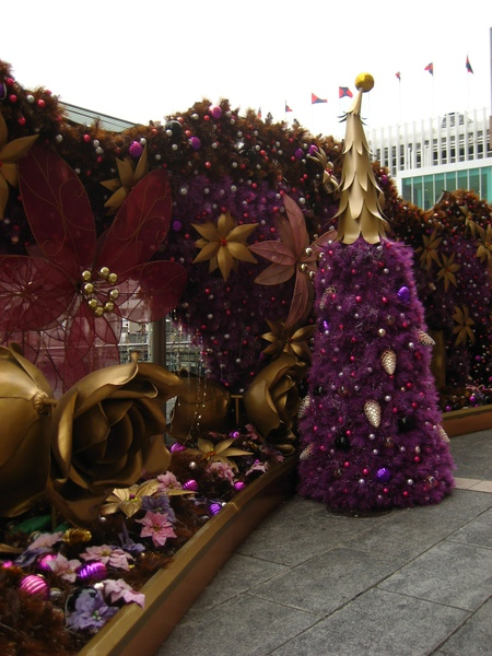 海港城的聖誕佈置