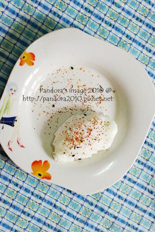 水波蛋poached egg