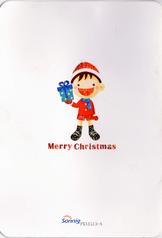 聖誕卡 from小寶妹
