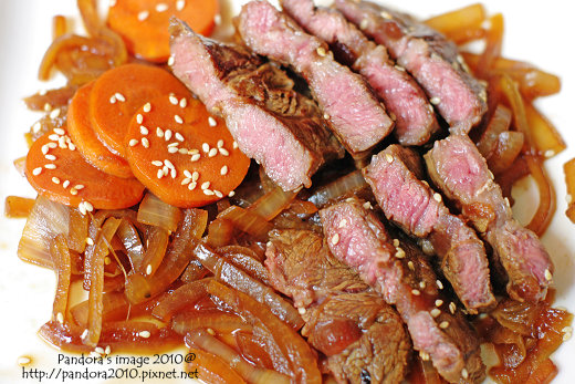 日式醬燒牛排