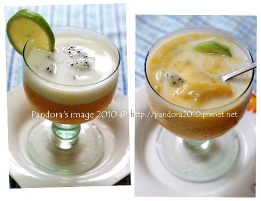 純芒果椰奶冰沙