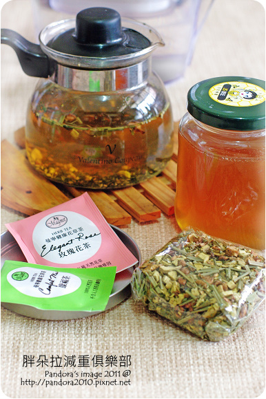 2011.07.09-蜂蜜、花草茶、水