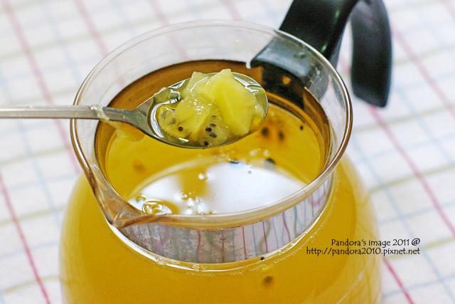 蜂蜜百香奇異果汁