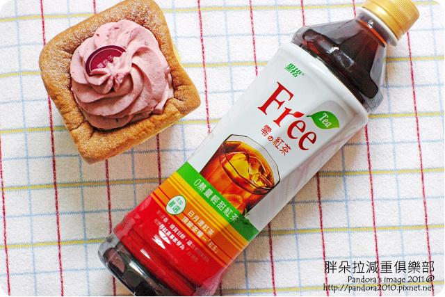 2011.08.09-(艾立)蔓越莓聖代戚風、(黑松)Tea Free