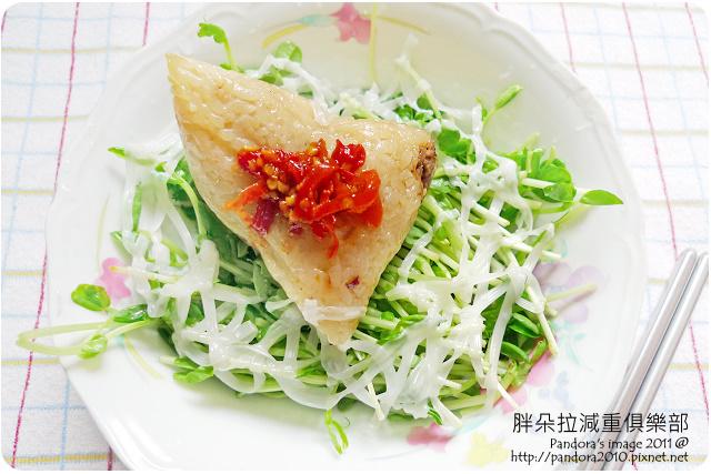 2011.08.27-客家米粽+小豆苗+(寧記)辣椒大王+美奶滋