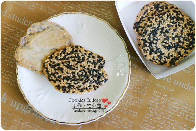CookiesEudora。芝麻薄餅