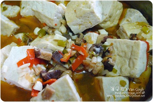 2011.09.12-紅燒臭豆腐