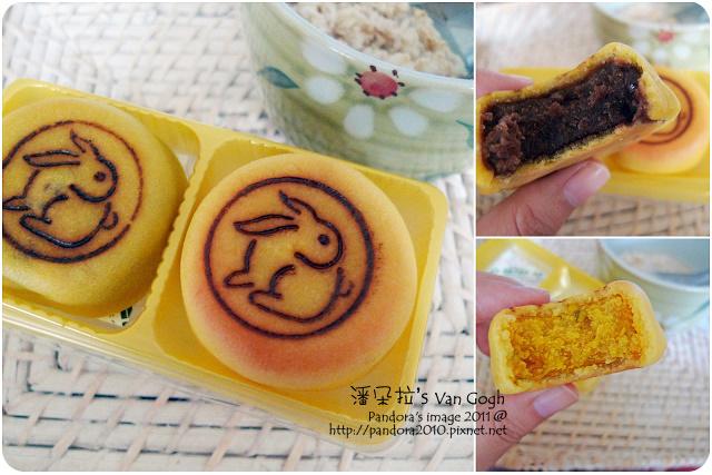 2011.09.15-(桂格)大燕麥片、紅豆月餅、南瓜月餅