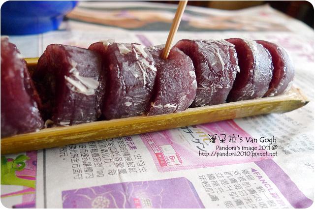 2011.09.17-(曾師傅)竹筒麻糬