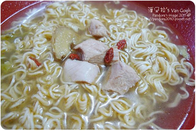 2011.09.17-(台酒)麻油雞麵