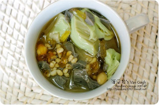 2011.09.26-綜合豆花-芝麻&抹茶