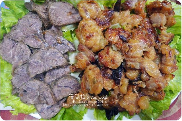 2011.10.05-滷牛腩、鳳梨排骨酥