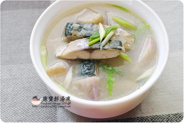 康寶鮮湯凍。山藥鯖魚湯