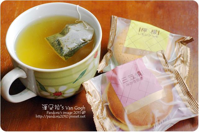 2011.12.05-(曼寧)康福茶、(金格)三笠燒&檸檬蛋糕