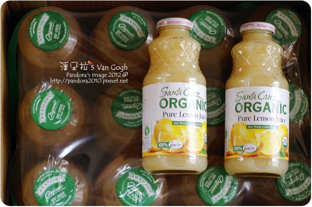 2012.01.18-RWK有機蘋果汁、Santa Cruz有機檸檬汁