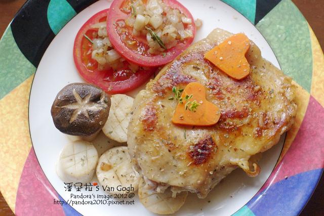 普羅旺斯鄉村嫩雞排