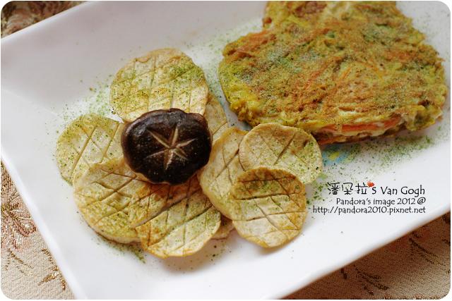 2012.01.21-乾煸杏鮑菇、胡蘿蔔煎蛋