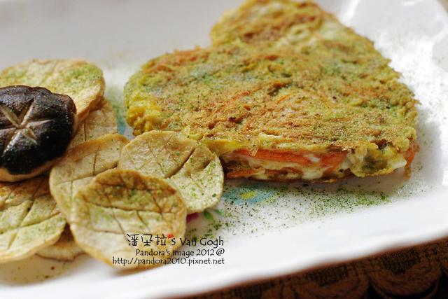 乾煸杏鮑菇&胡蘿蔔煎蛋