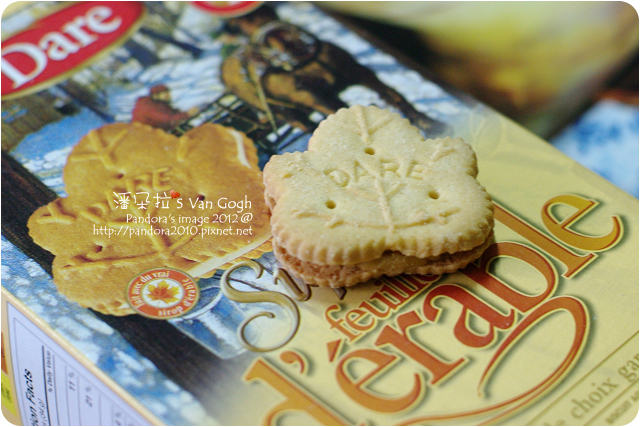 2012.01.29-(DARE)maple cookies楓葉餅乾