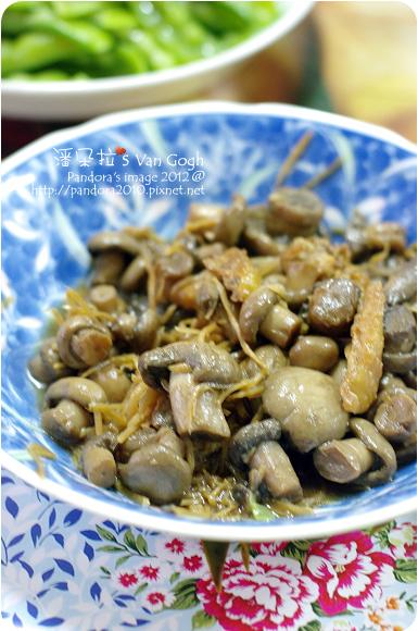 2012.01.29-薑絲炒蘑菇