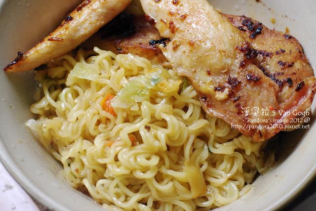 2012.02.13-(味王)包種茶油拌麵+清雞柳