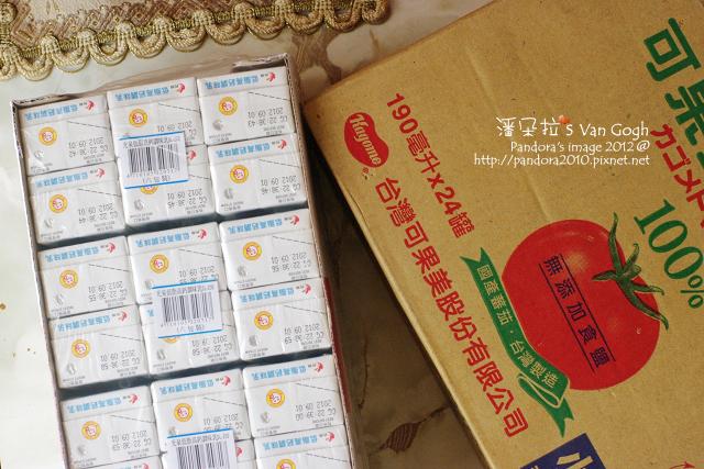 2012.02.13-(光泉)低脂高鈣牛乳、(可果美)無鹽蕃茄汁