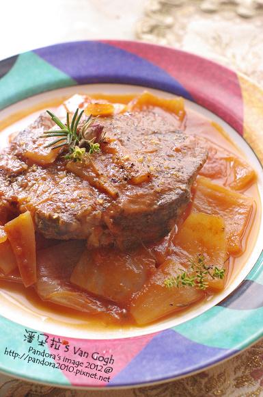 茄汁燉牛排