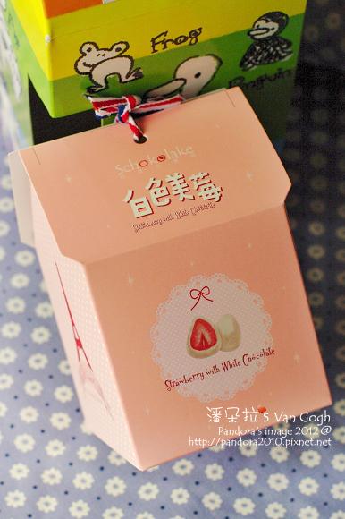 (巧克力雲莊)白色美莓巧克力