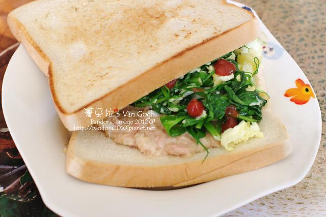 2012.02.22-蔬菜鮪魚沙拉三明治