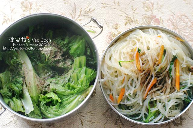 2012.02.28-炒米粉、清燙萵苣
