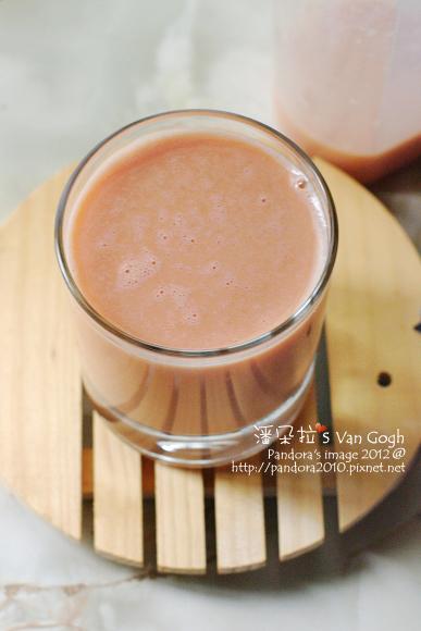 2012.03.04-蕃茄乳酸蛋蜜汁