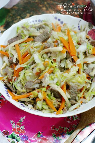 2012.03.06- 蔬菜牛肉冬粉
