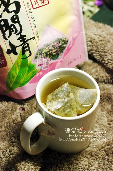 2012.03.06-(立頓)茗閒情玫瑰綠茶