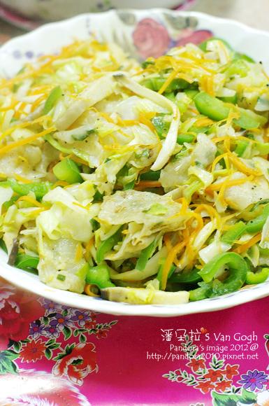2012.03.07-蔬菜炒蔥餅