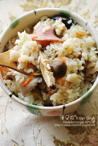 2012.03.22-培根什錦菇炊飯