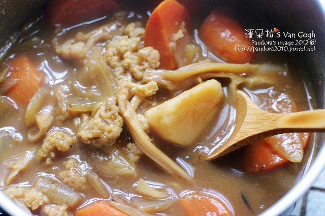 2012.04.08-花椰菜乾咖哩