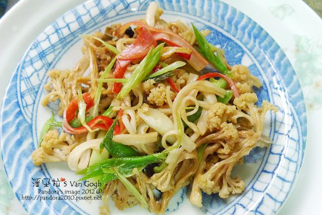 炒花椰菜乾