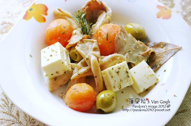 義式乳酪菇沙拉