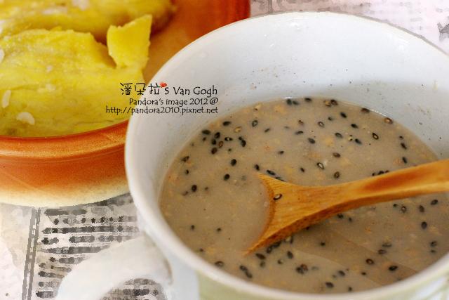 2012.04.11-蒸地瓜、(桂格)穀珍無糖健康全穀餐