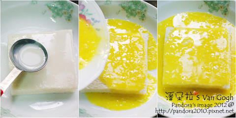 培根煉乳嫩吐司。作法