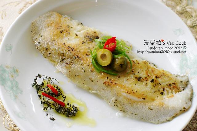 2012.04.15-橄欖油羅勒香鱈魚
